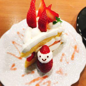いちごと生クリームのショートケーキ